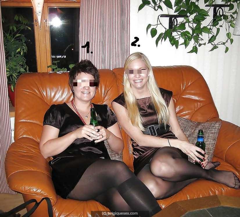 Soirée cokine avec mes copines salopes (manque 1 mec de Mons)